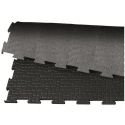 GUMMIMÅTTE - BELMONDO BASIC V/ MIN. 30 STK. (100x100 cm)