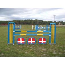 SMÅ FYLD DANMARKS FLAG (60 cm x 70 cm)